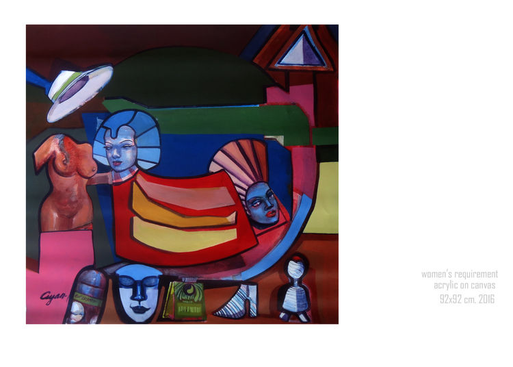 Women's requirement  by Gyanendra Pratap Singh - search and link Fine Art with ARTdefs.com
