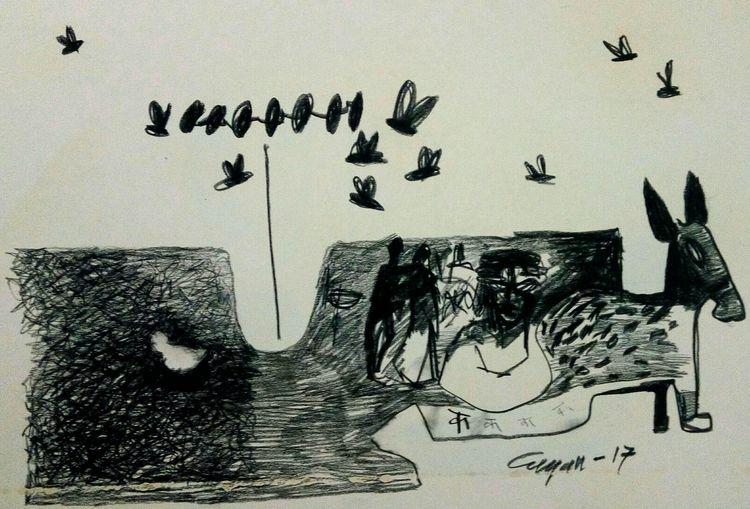 Dream bell 2 by Gyanendra Pratap Singh - search and link Fine Art with ARTdefs.com