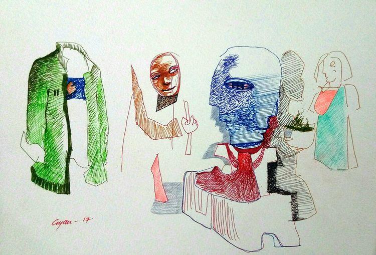 drawing 31 by Gyanendra Pratap Singh - search and link Fine Art with ARTdefs.com