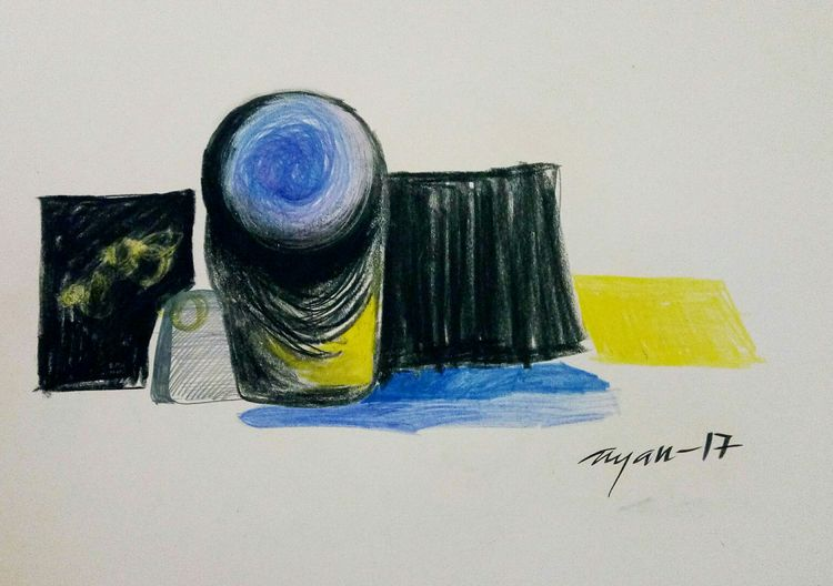 tribute to art mind  by Gyanendra Pratap Singh - search and link Fine Art with ARTdefs.com