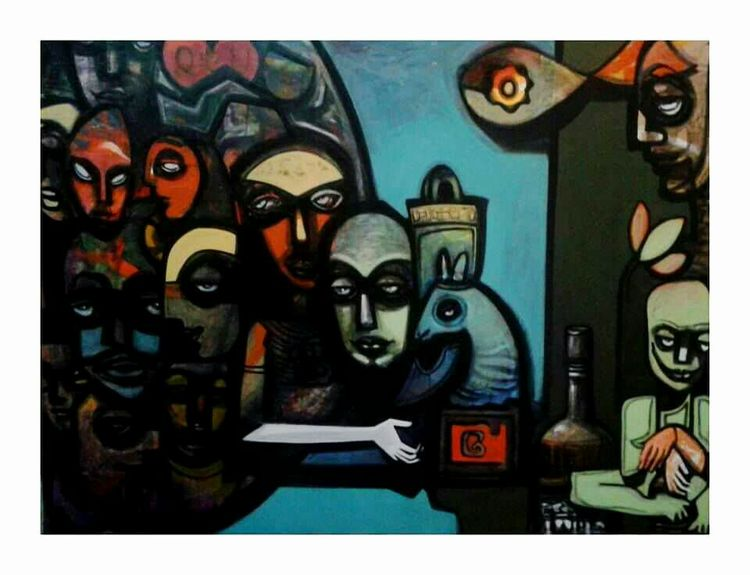 life game chess by Gyanendra Pratap Singh - search and link Fine Art with ARTdefs.com