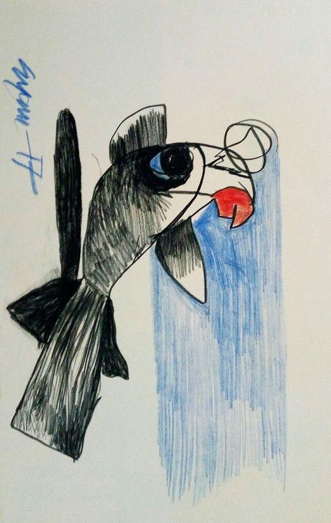 fish fry  by Gyanendra Pratap Singh - search and link Fine Art with ARTdefs.com