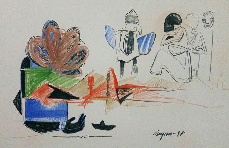 Isro by Gyanendra Pratap Singh - search and link Fine Art with ARTdefs.com