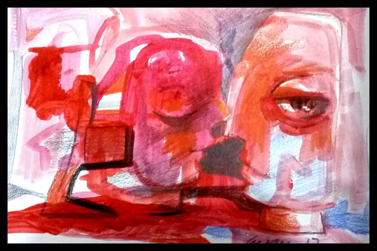 couple  by Gyanendra Pratap Singh - search and link Fine Art with ARTdefs.com
