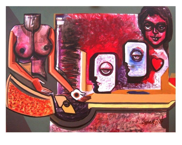 Request for love 2 by Gyanendra Pratap Singh - search and link Fine Art with ARTdefs.com
