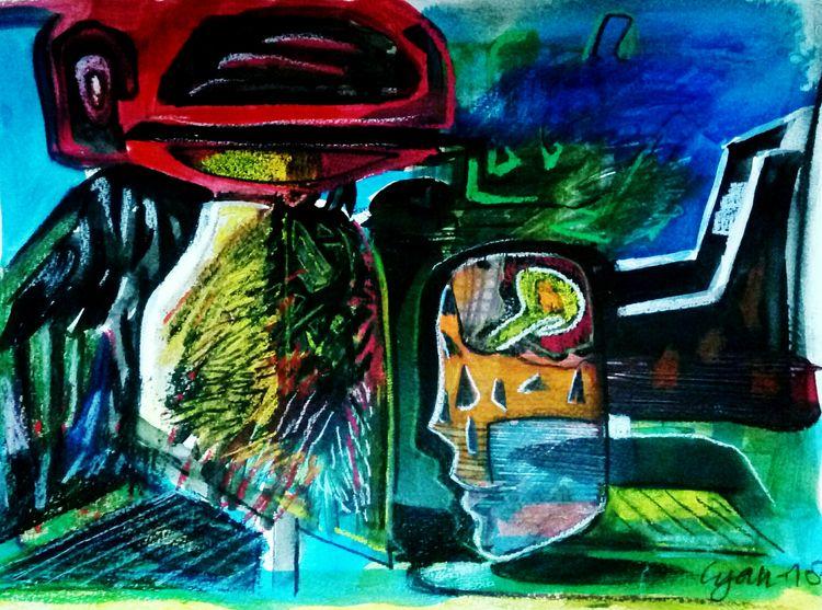 untittle by Gyanendra Pratap Singh - search and link Fine Art with ARTdefs.com