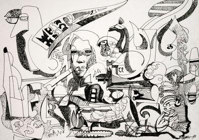 sawan 2  by Gyanendra Pratap Singh - search and link Fine Art with ARTdefs.com