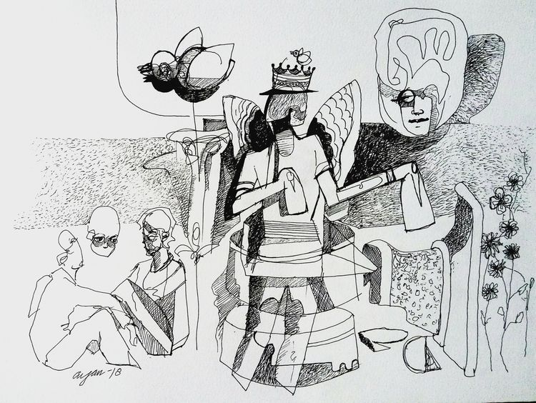 visualizer by Gyanendra Pratap Singh - search and link Fine Art with ARTdefs.com