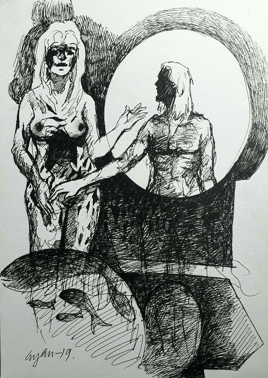 Rabbit 1 by Gyanendra Pratap Singh - search and link Fine Art with ARTdefs.com