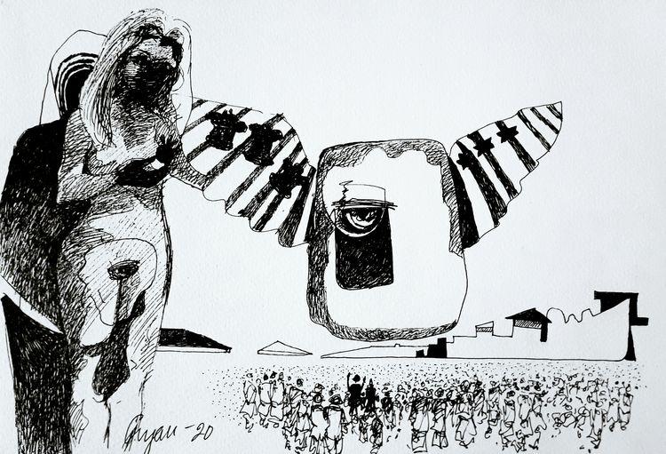 Haven 1 by Gyanendra Pratap Singh - search and link Fine Art with ARTdefs.com