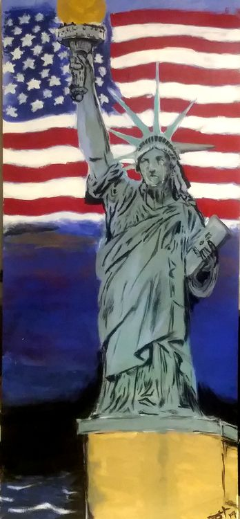 Tears of Liberty by Junior Ikpe - search and link Fine Art with ARTdefs.com