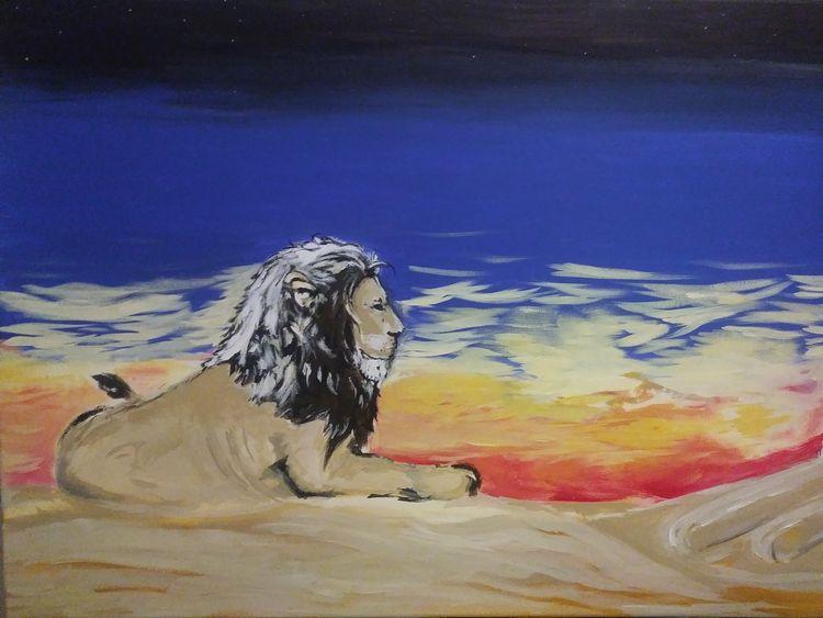 Desert Majesty by Junior Ikpe - search and link Fine Art with ARTdefs.com