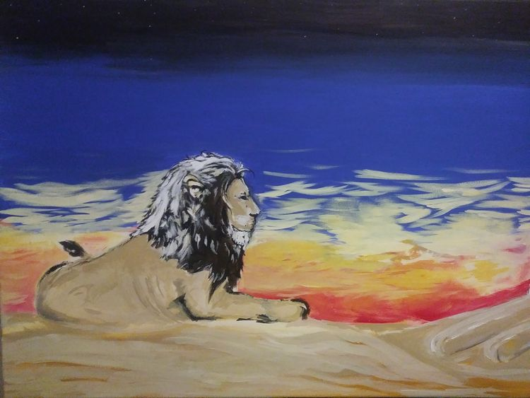 Desert Majesty by Junior Ikpe - search and link Fine Art with ARTdefs.com