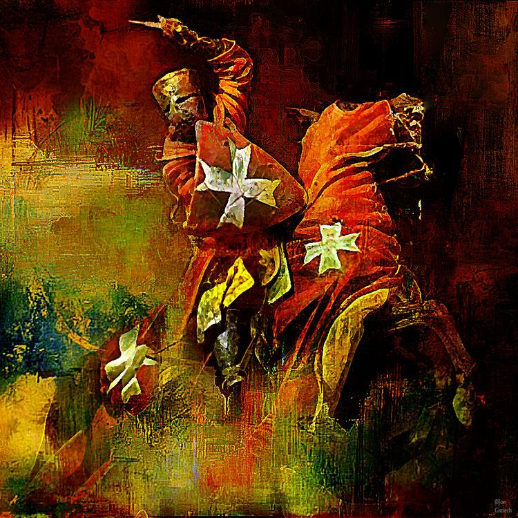 The last assault by Joe Ganech - search and link Fine Art with ARTdefs.com