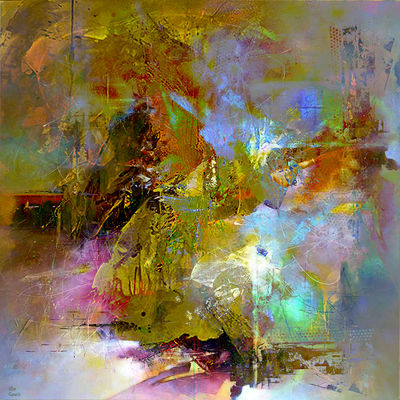 Faire abstraction 3 by Joe Ganech - search and link Fine Art with ARTdefs.com