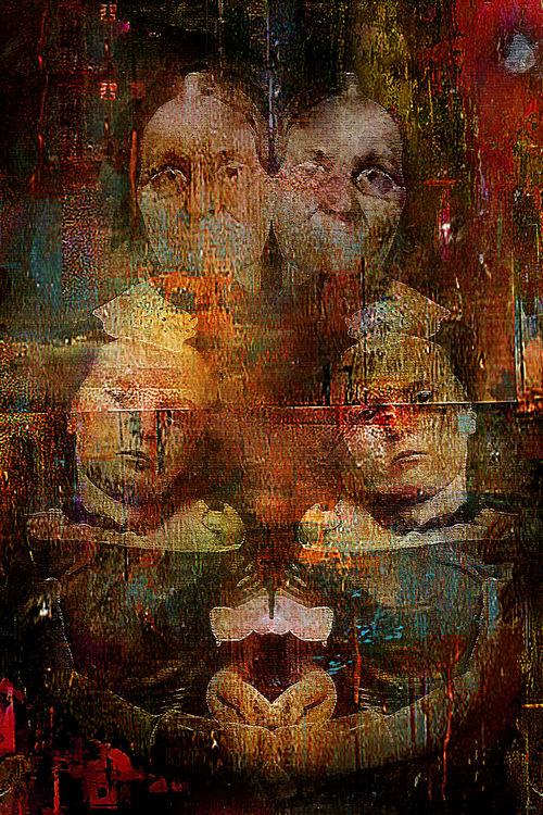 Twins intergenerational by Joe Ganech - search and link Fine Art with ARTdefs.com