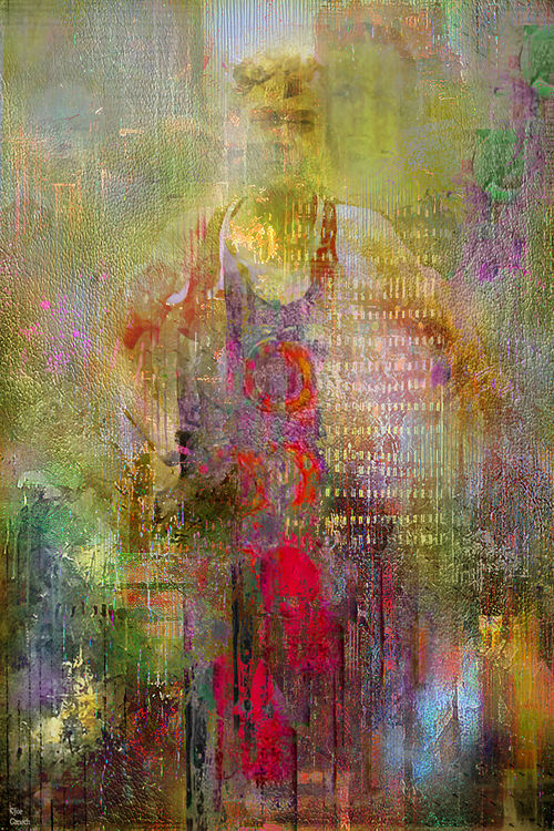The leader by Joe Ganech - search and link Fine Art with ARTdefs.com