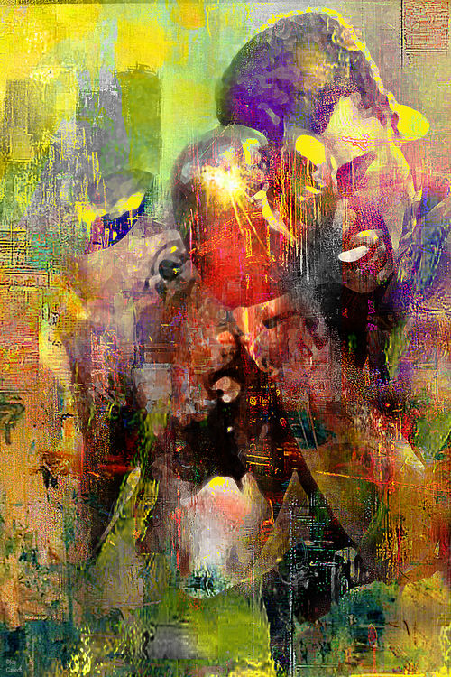 The boxers by Joe Ganech - search and link Fine Art with ARTdefs.com