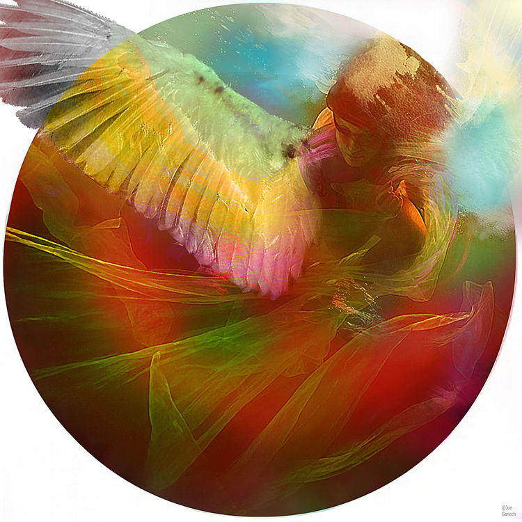The messenger by Joe Ganech - search and link Fine Art with ARTdefs.com