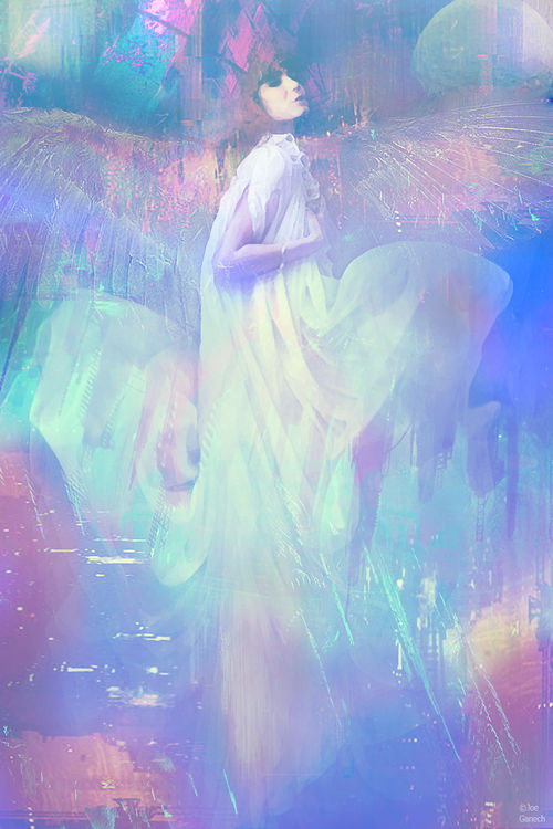 Ask your angel by Joe Ganech - search and link Fine Art with ARTdefs.com