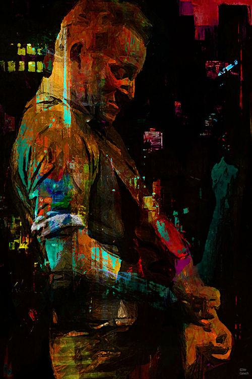 Bruce S. by Joe Ganech - search and link Fine Art with ARTdefs.com