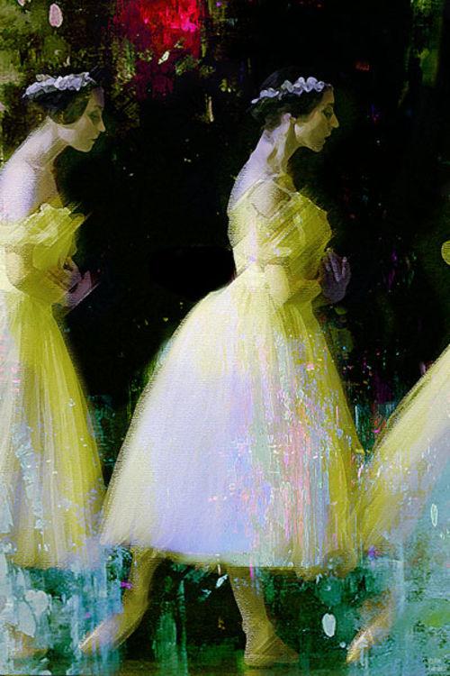 Ballerinas by Joe Ganech - search and link Fine Art with ARTdefs.com