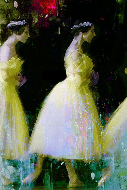 Ballerinas by Joe Ganech - search and link Fine Art with ARTdefs.com