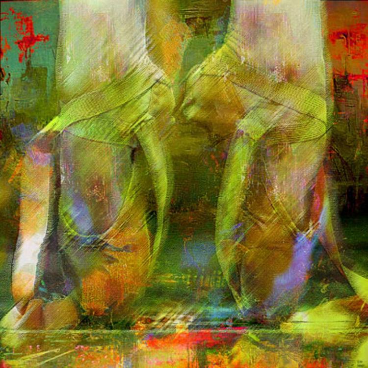 Ballet shoes by Joe Ganech - search and link Fine Art with ARTdefs.com