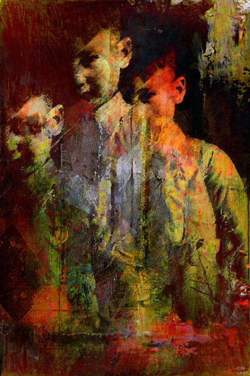 The ghost of the son Olsen  by Joe Ganech - search and link Fine Art with ARTdefs.com