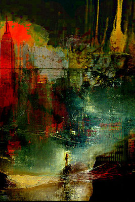 The city which fell asleep by Joe Ganech - search and link Fine Art with ARTdefs.com