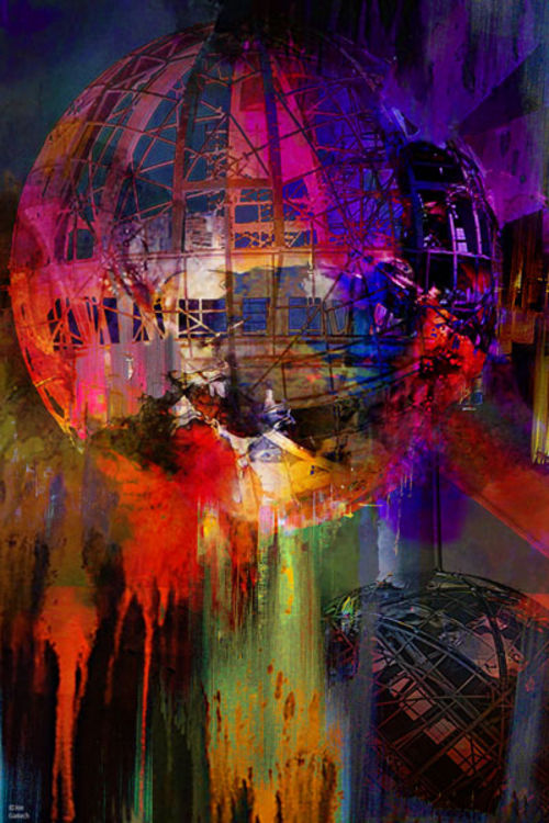 Atomium 58 by Joe Ganech - search and link Fine Art with ARTdefs.com