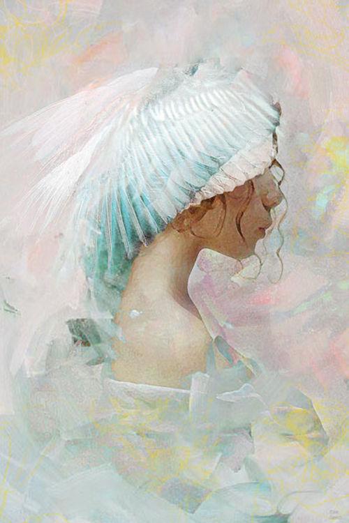 Portrait of a memory by Joe Ganech - search and link Fine Art with ARTdefs.com