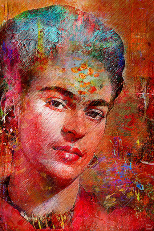 Frida K. by Joe Ganech - search and link Fine Art with ARTdefs.com