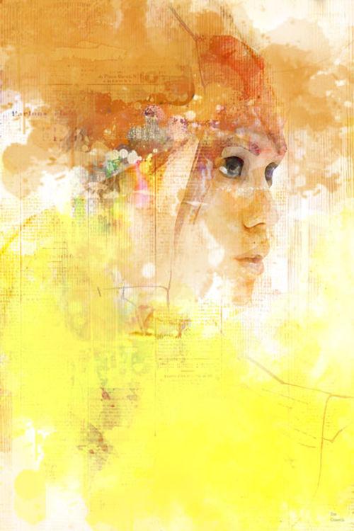 Stealth portrait by Joe Ganech - search and link Fine Art with ARTdefs.com