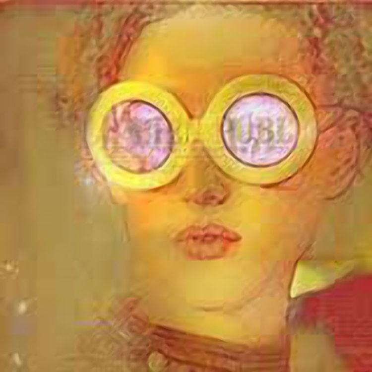La fille de l'affiche by Joe Ganech - search and link Fine Art with ARTdefs.com