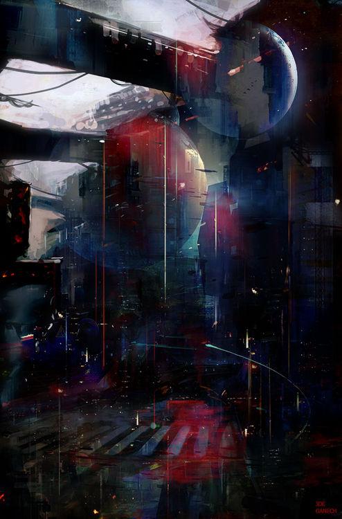 Back to Omega Centauri by Joe Ganech - search and link Fine Art with ARTdefs.com