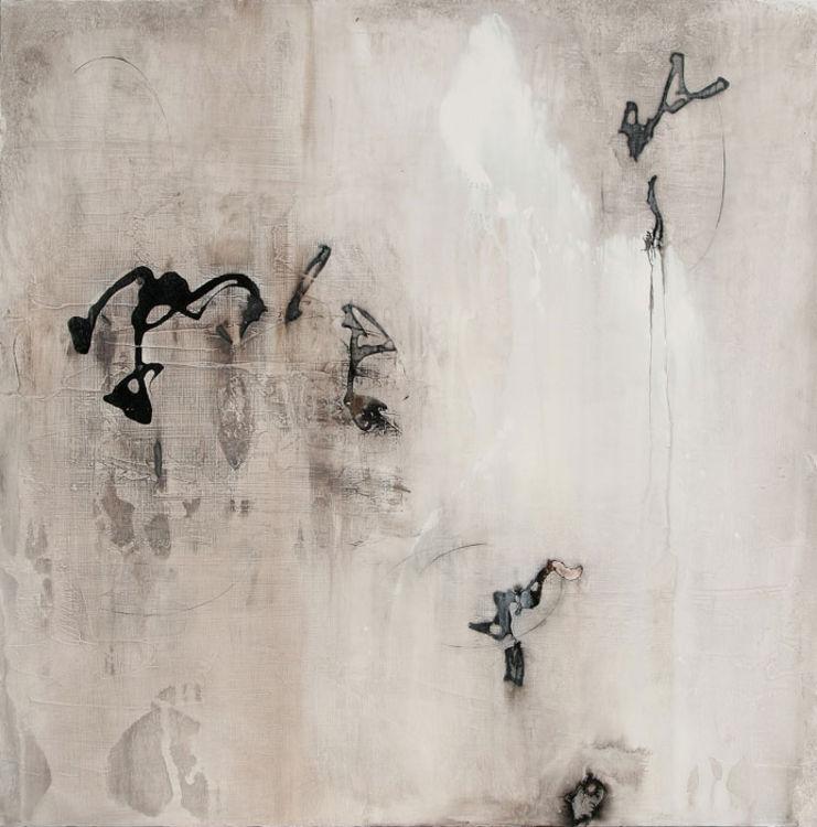 Heavenly Dialogue 1 by Julie Quinn - search and link Fine Art with ARTdefs.com