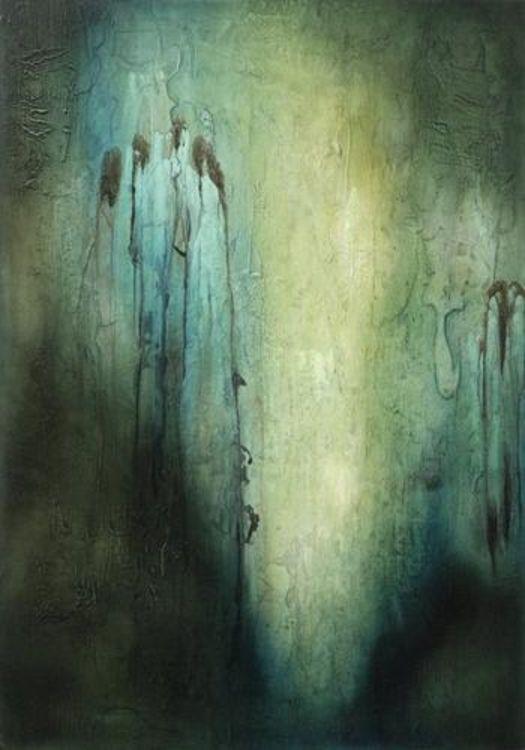 Cascade by Julie Quinn - search and link Fine Art with ARTdefs.com