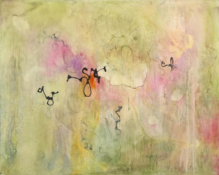 Garden Song 2 by Julie Quinn - search and link Fine Art with ARTdefs.com