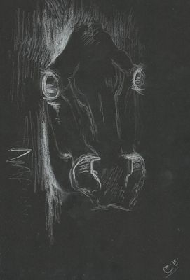 Horse by L Tab - search and link Fine Art with ARTdefs.com
