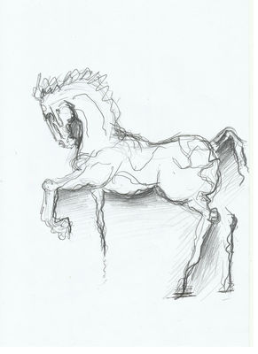 horse 5 by L Tab - search and link Fine Art with ARTdefs.com