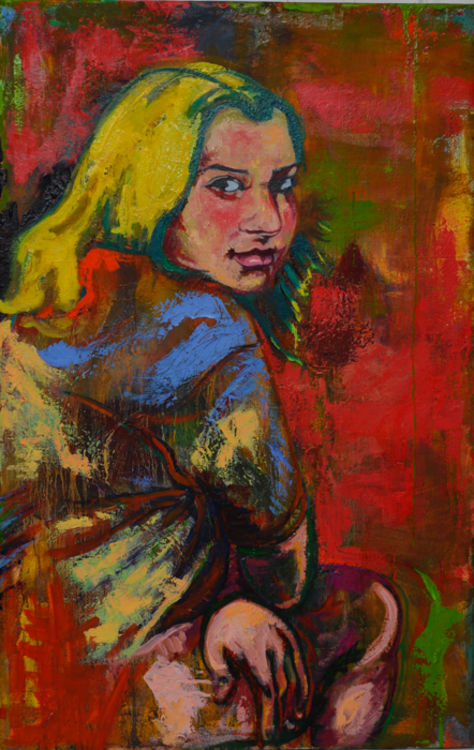 Girl, Golden Age by Margaret Brown - search and link Fine Art with ARTdefs.com