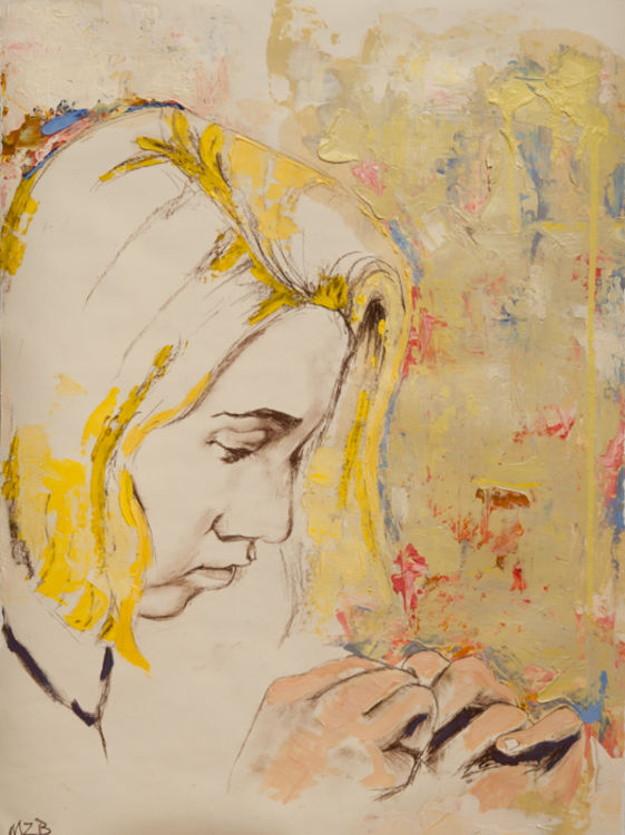Lost in Thought by Margaret Brown - search and link Fine Art with ARTdefs.com