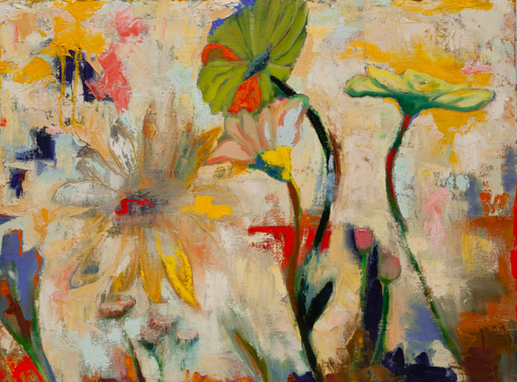 Flowers from Lemons by Margaret Brown - search and link Fine Art with ARTdefs.com