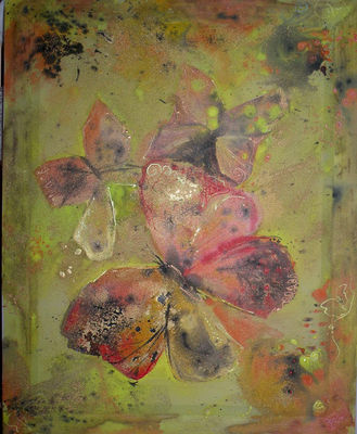 Butterflies by Meda  - search and link Fine Art with ARTdefs.com