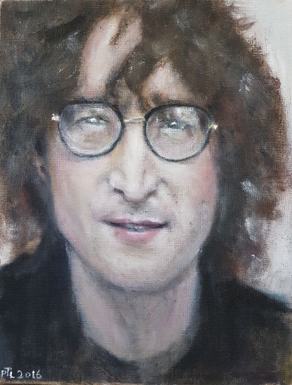 John Lennon by Patrick Turner-Lee - search and link Fine Art with ARTdefs.com