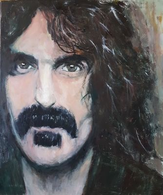Frank Zappa by Patrick Turner-Lee - search and link Fine Art with ARTdefs.com
