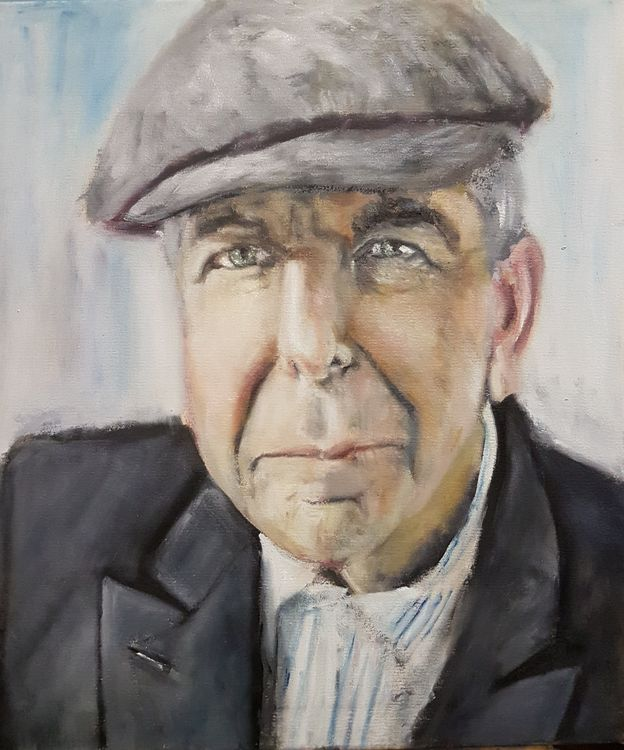 """""""Where the Light gets in"""" Leonard Cohen by Patrick Turner-Lee - search and link Fine Art with ARTdefs.com"""