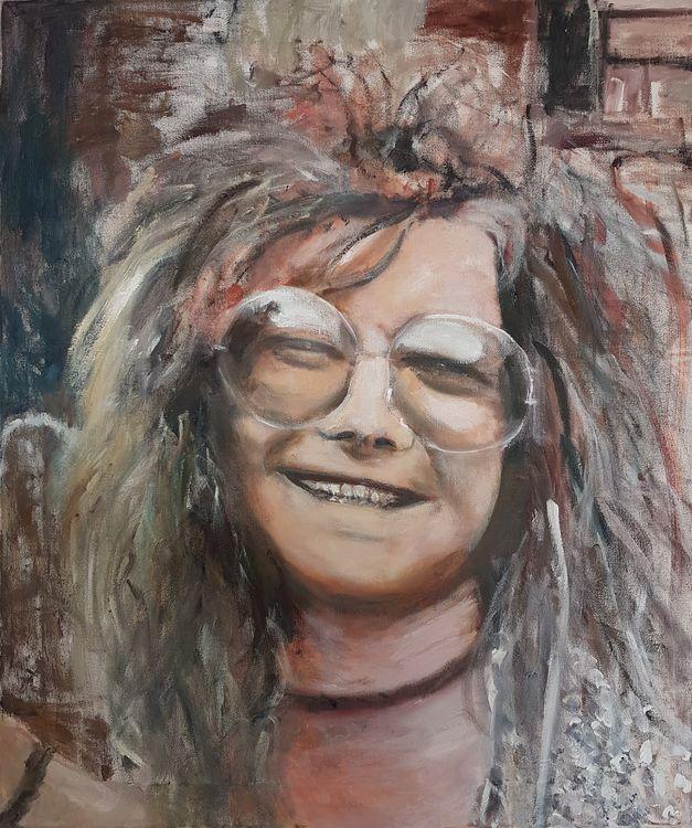 Janis Joplin by Patrick Turner-Lee - search and link Fine Art with ARTdefs.com