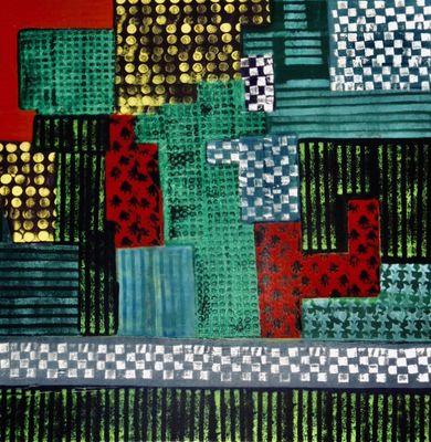 NOSTALEGIE   100-100-5 Huile sur Toile 2019  by René Berrut - search and link Fine Art with ARTdefs.com